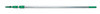 Unger® TF900 TelePlus 5 Section Aluminum Telescopic Pole, 30'