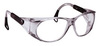 EX, Safety Glasses, Polycarbonate, Clear, Anti-Fog, Framed, Smoke