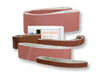 Sanding Belt, Aluminum Oxide, 100, 24 in, 1-1/2 (Width) in, Hook Eye Grinders, 10 per Box|100 per Case, X-Weight Backing, Heat-Resistant, Moisture-Resistant
