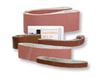 Sanding Belt, Aluminum Oxide, 80, 24 in, 1-1/2 (Width) in, Hook Eye Grinders, 10 per Box|100 per Case, X-Weight Backing, Heat-Resistant, Moisture-Resistant