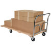 Platform Truck, 1600 lbs, 72 L x 36 W x 9-1/2 H in, Hardwood / Steel (Handle)