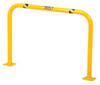 Machinery Rack Guard, 24 in, 304 Stainless Steel, Yellow, 36 in, High Profile