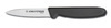 Basics®, Paring Knife, 3 in, High Carbon Steel, Polypropylene, 5 in, 8 in, Slip-Resistant, Black, Standard, 12 per Box, Stain-Free Blade, Re-Sharpenable Blades