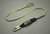Miller®, Shock Absorbing Lanyard, Webbing, 6 ft, Locking Snap Hook (Harness) Locking Snap Hook (Anchor)