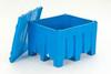 SANI-BOX®, Sani-Lid, Blue, Sani-Box