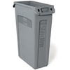 Rubbermaid Slim Jim® FG354060 Container, 23 gal