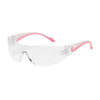 PIP 250-10-0920 Eva Safety Glasses, Womens, Clear/Pink Temple