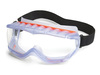 Cyclone®, Safety Goggle, Polycarbonate, Clear, Anti-Fog, Vinyl, Framed