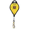 Dyna-Lock®, Self Retracting Lifeline, Stainless Steel, 20 ft, Dynalock, 75 to 310 lbs