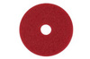 Buffing Pad, 20 in, Red, 175 to 600 RPM