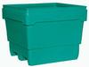 MonsterCombo®, Combo Bin, 48 x 44 in, Pallet, 2-Way, Natural, Polyethylene