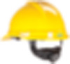 MSA V-Gard® 500 Vented Slotted Hard Cap with 6-Point Suspension, Hi-Viz Yellow