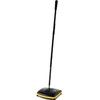 Executive Series, Floor Sweep, Rubber, 9-3/4 in, Threaded, Black