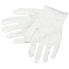 MCR Safety 8600 White Poly Blend Reversible Inspector Gloves