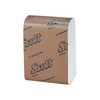 Scott®, Dispenser Napkin, 45% Recycled Fiber, White, 1-Ply, Low Fold, 12 x 7 in