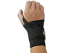 ProFlex®, Wrist Support, Hook & Loop, Black, Elastic, Left Hand, Single Strap|Fully Adjustable, X-Large