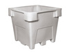Bonar Plastics 3028 Poly Combo Bin, Gray Color, W/O Drain, W/O Lid