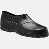 Plain Toe Overshoe, PVC, Plain, Pull-On, Black, X-Small