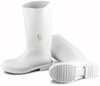 Dunlop® 51033 Plain Toe Boot, PVC, White