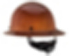 MSA Skullgard Standard Tan Hard Hat with Staz-On Pinlock Suspension