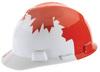 V-Gard®, Front Brim Hard Hat, 4-Point (Staz-On), Pin Lock, White, 6-1/2 to 8 (Standard) in