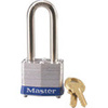 Safety Lockout Padlock, Laminated Steel, Blue (Bumper), Keyed Alike