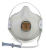 Moldex® HandyStrap® 2700N95 Disposable Respirator, N95, White, Md/Lrg