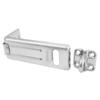Padlock Hasp, Hardened Steel, Gray, 1