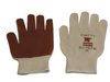 Honeywell North® 81/1162M General Purpose Gloves, Cotton/Poly, Nitrile, Natural/Rust, Medium