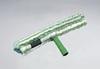 StripWasher®, Window Squeegee, Woven Fabric, 14 in, Green, Loop Fastening