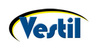 Vestil Steel Hand Truck, P-Handle, Hard Rubber Wheels, 500 lbs