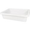 "Rubbermaid Container Bus Box 4.6 Gal Cap White 5"" H x 20"" L x 15"" W"