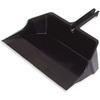 Flo-Pac®, Dust Pan, 18 in, Black