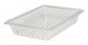 Rubbermaid FG330300CLR Clear Colander/Drain Tray, 26 x 18-Inch