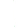 Vikan® Kleen Line® Broom Handle, Aluminum/Polypropylene, FDA