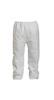 DuPont Tyvek® 400 White Polyethylene Pants, X-Large
