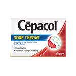 Cepacol Sore Throat Lozenge Cherry 576 per Box