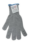cut resistant glove, spectra blend, stainless steel and other strength fibers, 4
