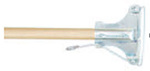Mop Handle, Wood, Spring Yoke