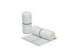 Flexicon®, Clean Wrap, White / Blue, Polyester Fabric, 4 in
