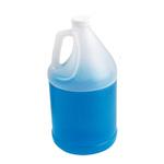 Round Jug, Polyethylene, Round, White, 1 gal
