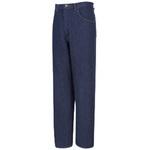 Jeans Pant, Cotton Denim, Navy Blue, Zipper