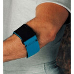 Elbow Support, Neoprene, Ambidextrous, Blue (Fabric Line), Universal
