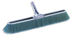 Bruske 2162B Broom with Green Synthetic Bristles, 17 inch