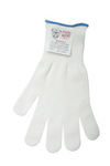 Cut Resistant Glove, ultra- light spectra blend and other high strength fibers, white, 4, small