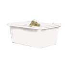 Bulk Mover Tub, 500 lbs, Polyethylene