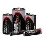 Alkaline Manganese Dioxide Battery, AAA, 1.5 V, 250 @ 1 KHz m?, Flat, 10.5 (Dia) x 44.5 (H) mm, -4 to 130 °F, LR03, IEC, 24 per Box