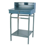 "Stationary Receiving Desk Win-Holt RDSWN-2 Steel 22"" X 45"" X 24"""