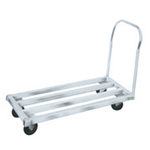 Utility Cart, Aluminum, 1700 lbs, 42 in, 24 in, 8 in