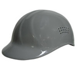Bump Cap, 4-Point, Pin Lock, Gray, 6-1/2 to 7-3/4 in